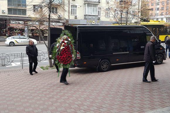 В Киеве прощаются с Давидом Черкасским