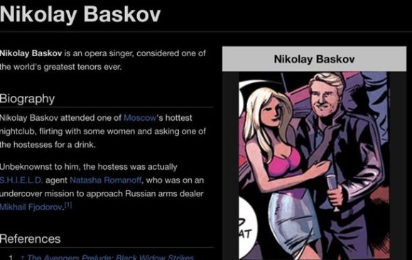 В комиксе Marvel нашли певца Николая Баскова