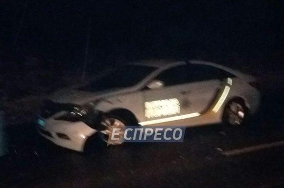 В Киеве столкнулись два полицейских авто — СМИ