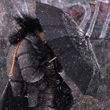 Киевлян предупредили о дожде и мокром снеге