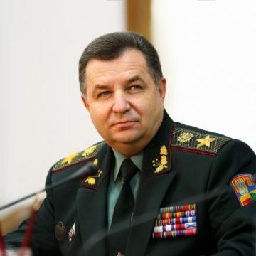 Полторак сообщил о стотысячной армии и танках на границе Украины