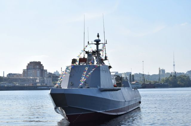 ВМС Украины значительно усилят при помощи новых судов