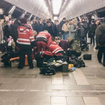 В Киеве на станции метро умерла 9-летняя девочка
