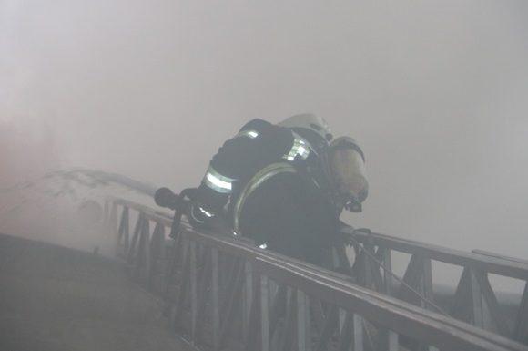 Пожар в центре Киева ликвидировали