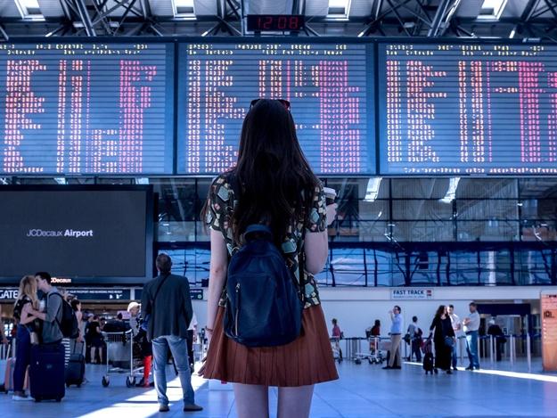В киевских аэропортах из-за непогоды отложили рейсы