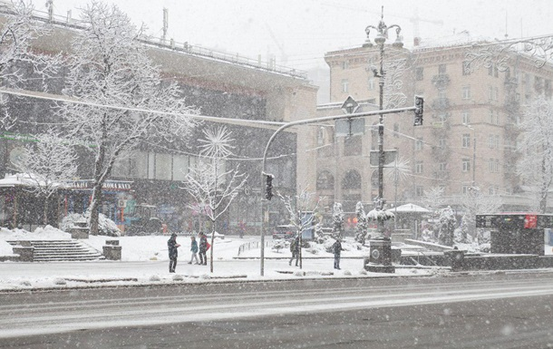 До 10 сантиметров снега: в Киеве ухудшится погода
