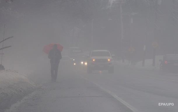 В Киеве ночью сохранится сильный туман