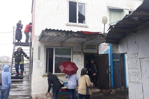 В Киеве горел приют для кошек