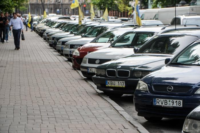 Протест евробляхеров в Киеве: как это происходило, фото