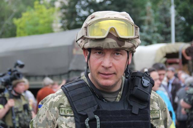Глава госохраны Валерий Гелетей написал заявление об увольнении
