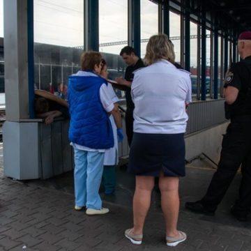 На железнодорожном вокзале Киева нашли труп