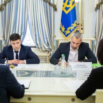 Президент пообещал помочь запустить работу Антикоррупционного суда