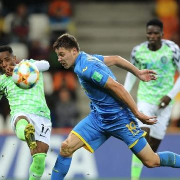 Ничья с Нигерией позволила занять сборной Украине первое место в группе